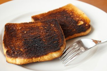 What's wrong with burnt food?
