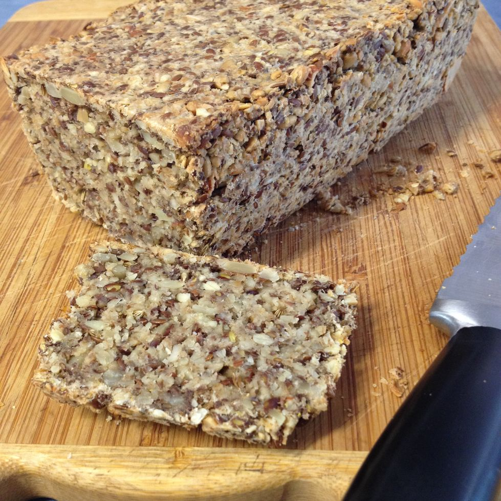 nut and seed bread life changing