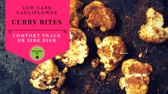 Low Carb Cauliflower Curry Bites – Guilt Free Snacks