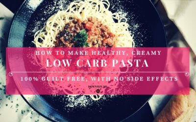 How To Make Healthy, Creamy, Low Carb Pasta