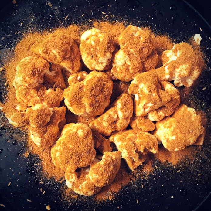 Low Carb Cauliflower Curry Bites 1