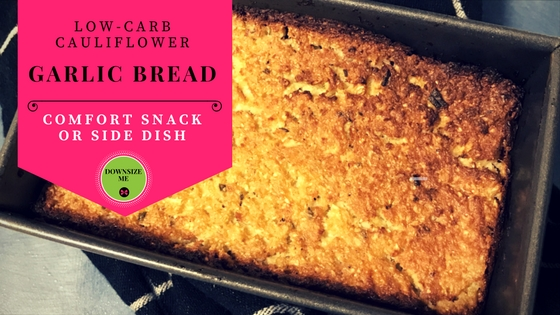 Cauliflower Garlic Bread Low Carb – Bloat-free comfort