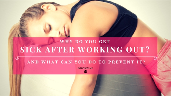 Why Do You Get Sick After Working Out?
