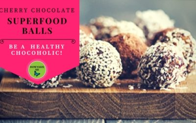 Cherry Chocolate Superfood Balls