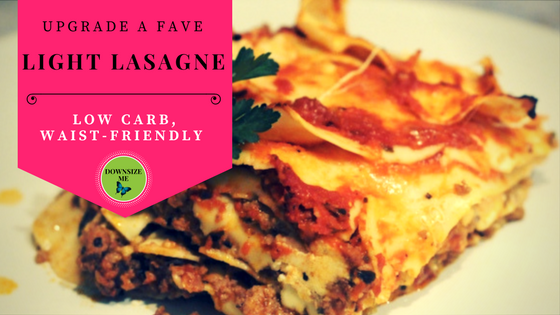 Waist-friendly, light lasagne